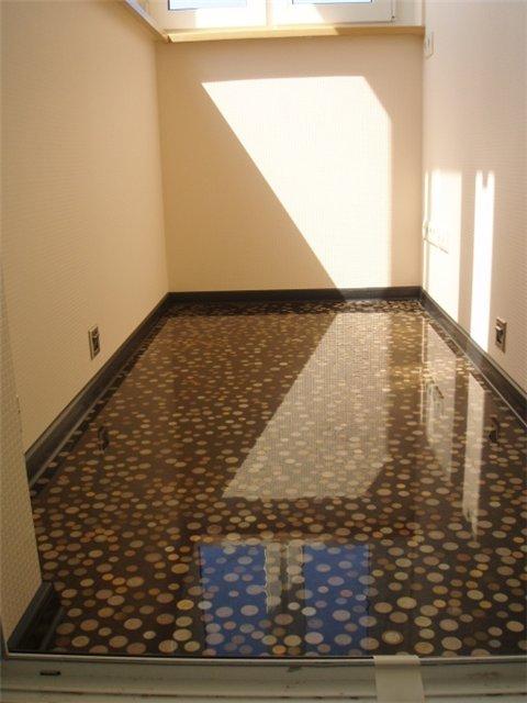 Наливные полы в квартире фото