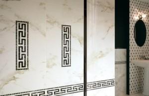 ванна в греческом стиле